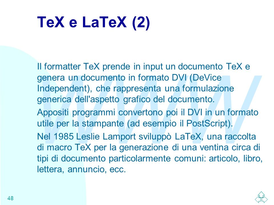 TeX e LaTeX (2)
