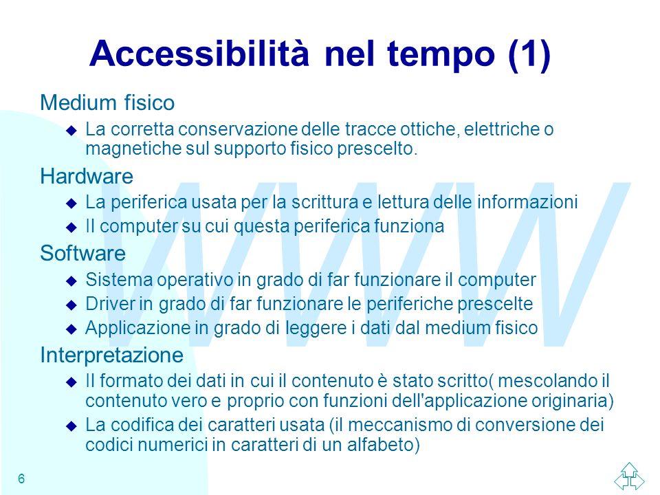 Accessibilità nel tempo (1)