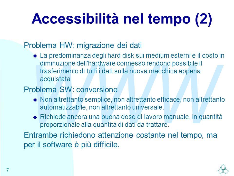 Accessibilità nel tempo (2)