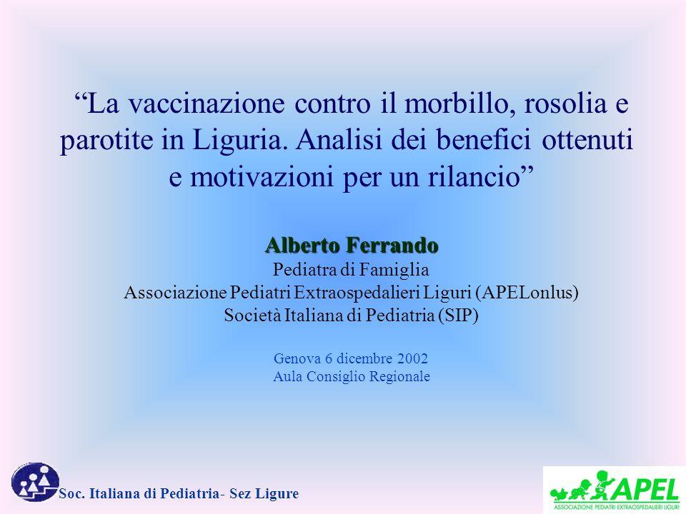 La vaccinazione contro il morbillo, rosolia e