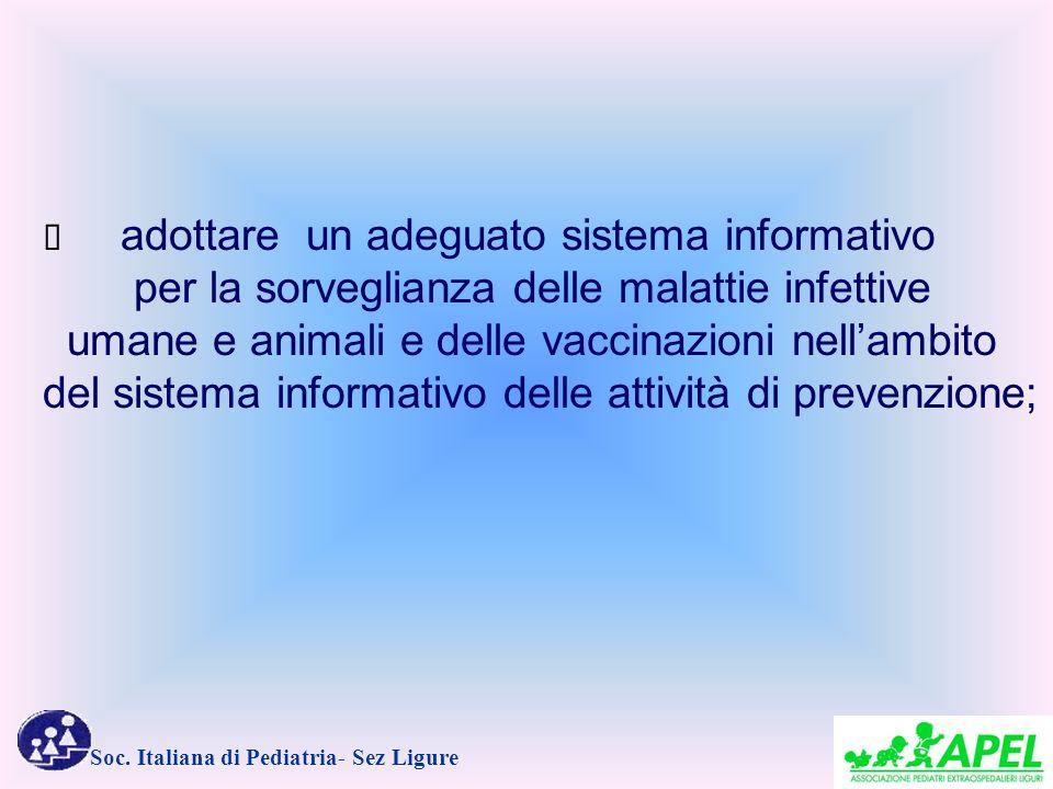 per la sorveglianza delle malattie infettive