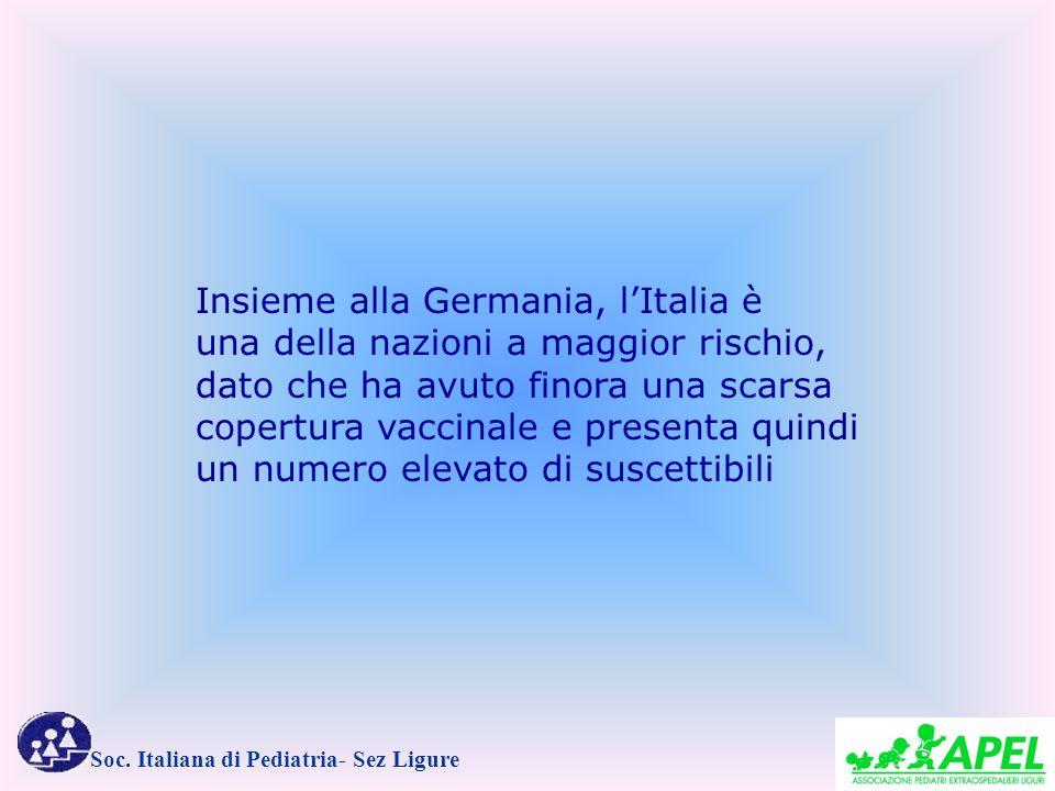Insieme alla Germania, l'Italia è