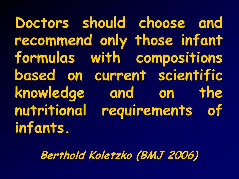 Berthold Koletzko (BMJ 2006)