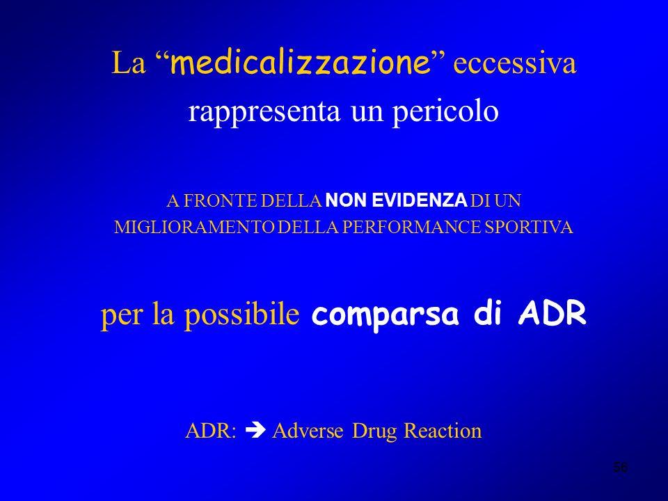 La medicalizzazione eccessiva rappresenta un pericolo