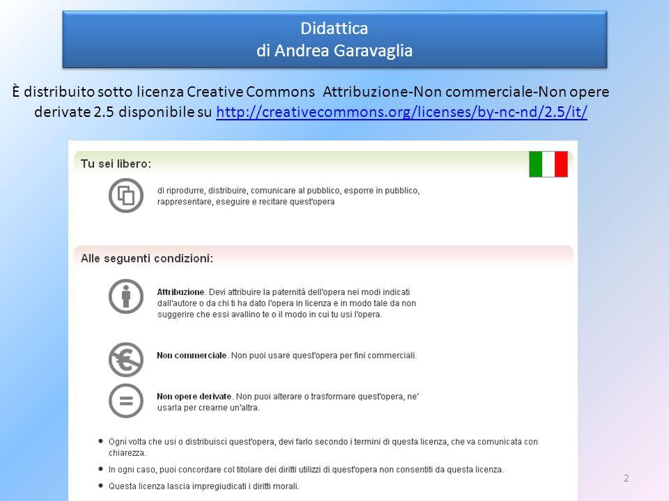 Didattica di Andrea Garavaglia