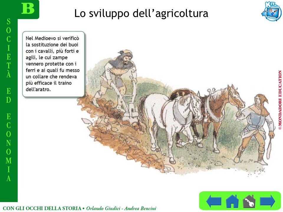 Lo sviluppo dell'agricoltura
