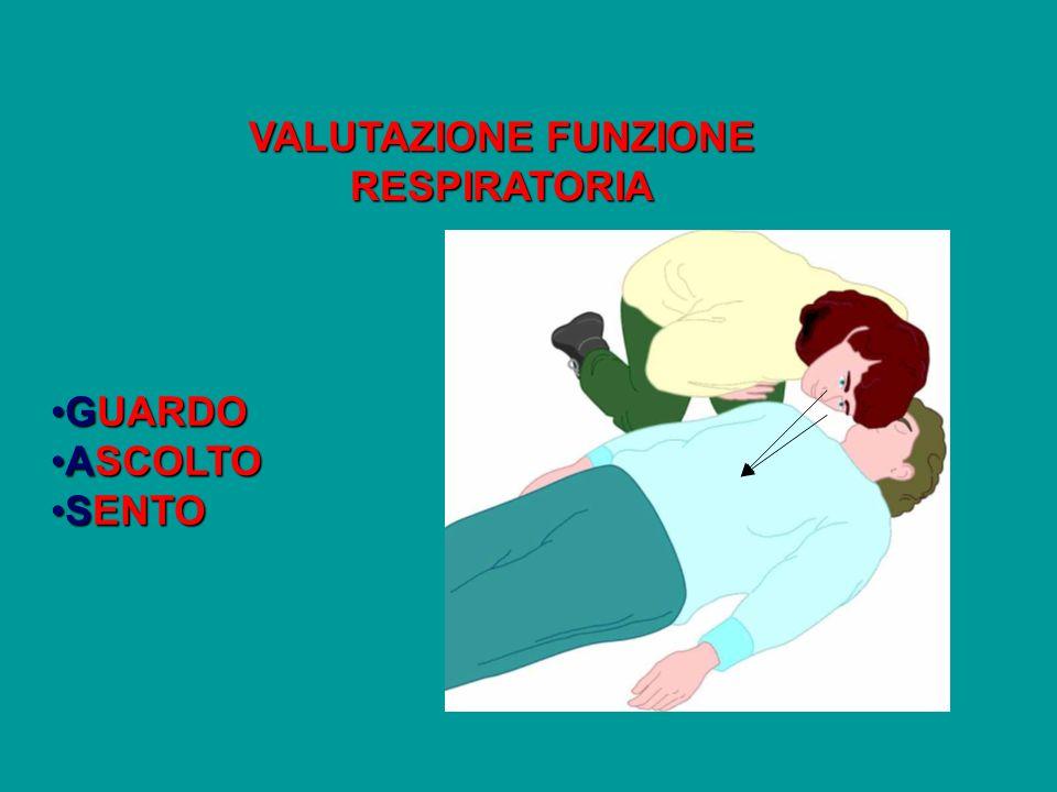 VALUTAZIONE FUNZIONE RESPIRATORIA