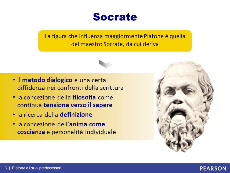 04/02/13Socrate. La figura che influenza maggiormente Platone è quella del maestro Socrate, da cui deriva.