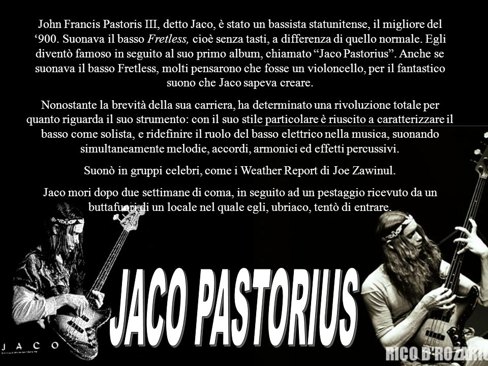 Suonò in gruppi celebri, come i Weather Report di Joe Zawinul.