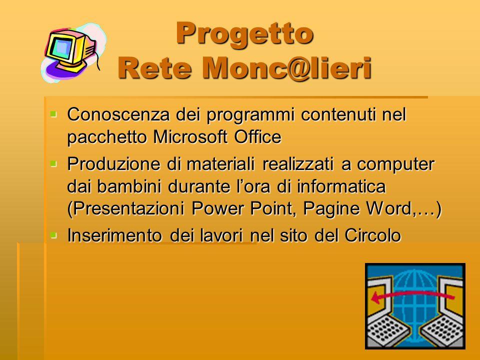 Progetto Rete Monc@lieri