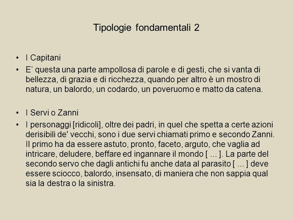 Tipologie fondamentali 2