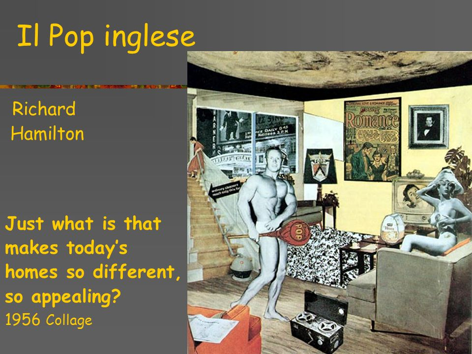 Il Pop inglese Hamilton Just what is that makes today's