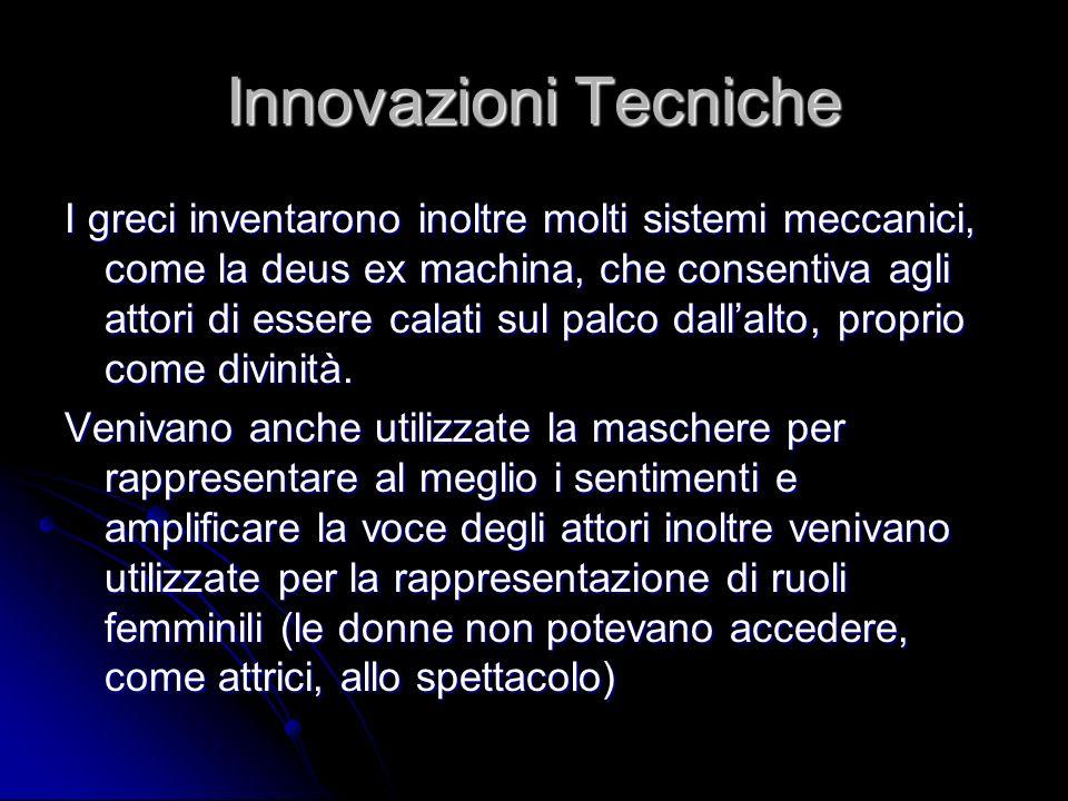 Innovazioni Tecniche