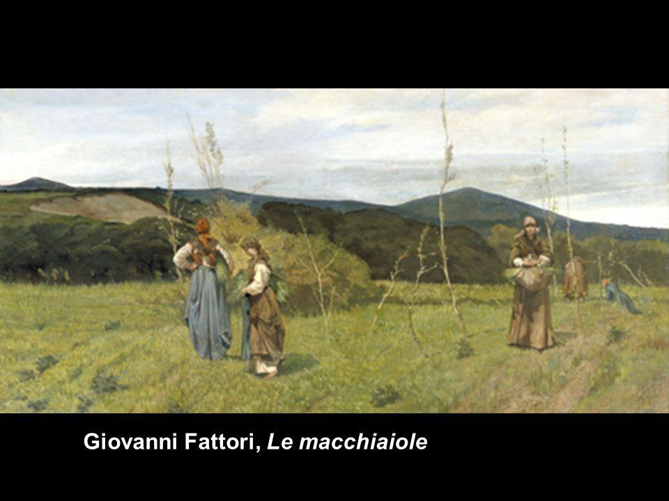 Giovanni Fattori, Le macchiaiole