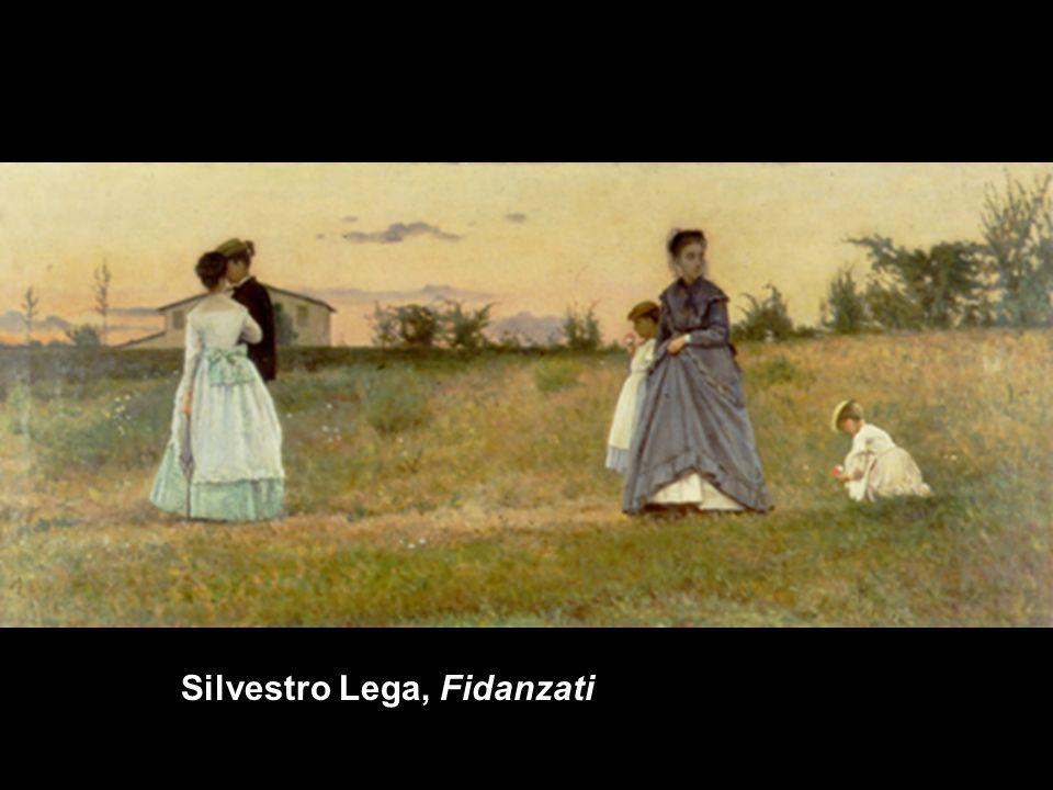 Silvestro Lega, Fidanzati