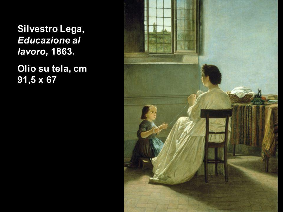Silvestro Lega, Educazione al lavoro, 1863.