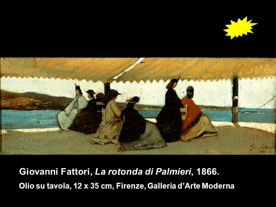 Giovanni Fattori, La rotonda di Palmieri, 1866.