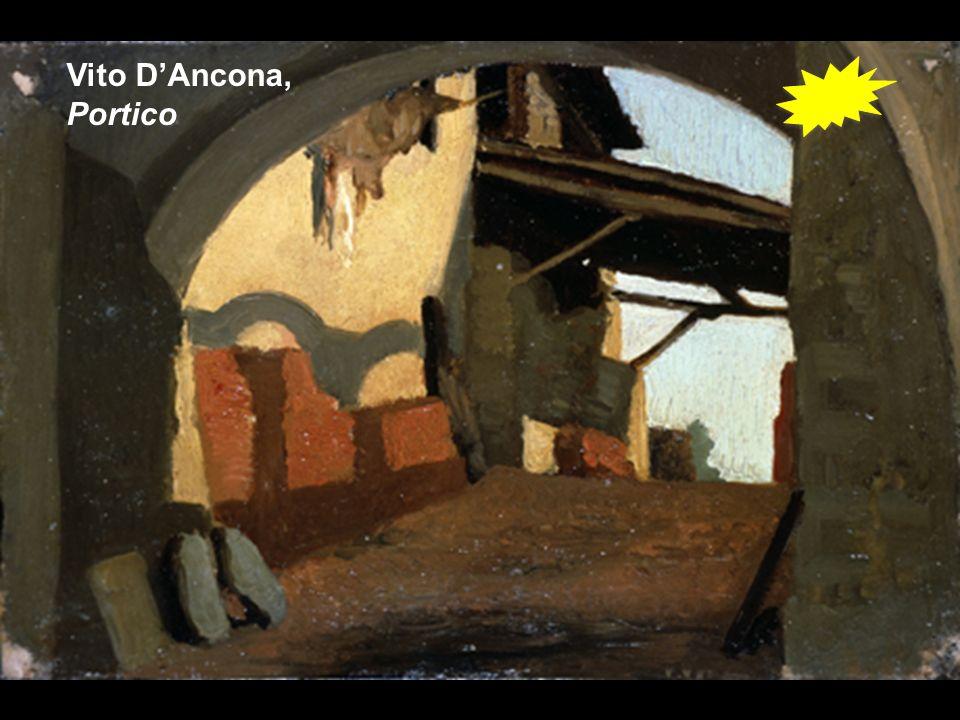 Vito D'Ancona, Portico
