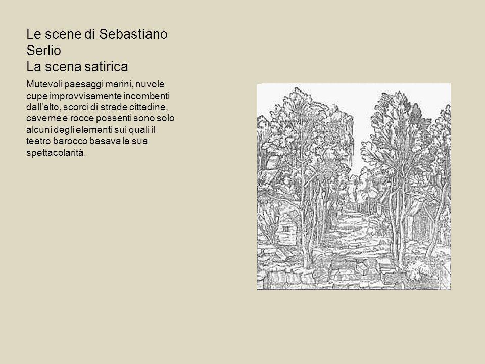 Le scene di Sebastiano Serlio La scena satirica