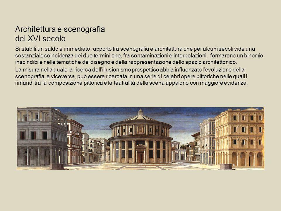 Architettura e scenografia del XVI secolo