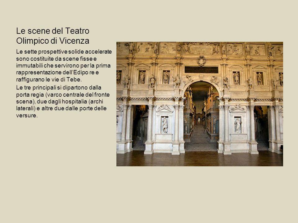 Le scene del Teatro Olimpico di Vicenza
