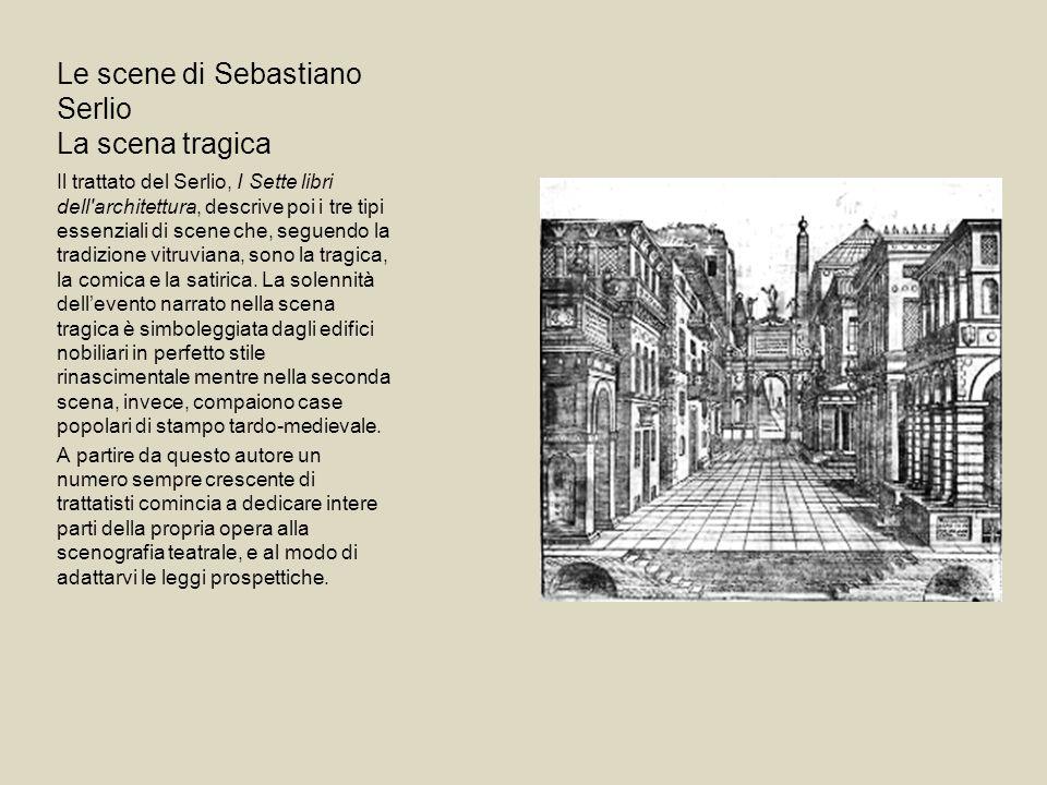 Le scene di Sebastiano Serlio La scena tragica
