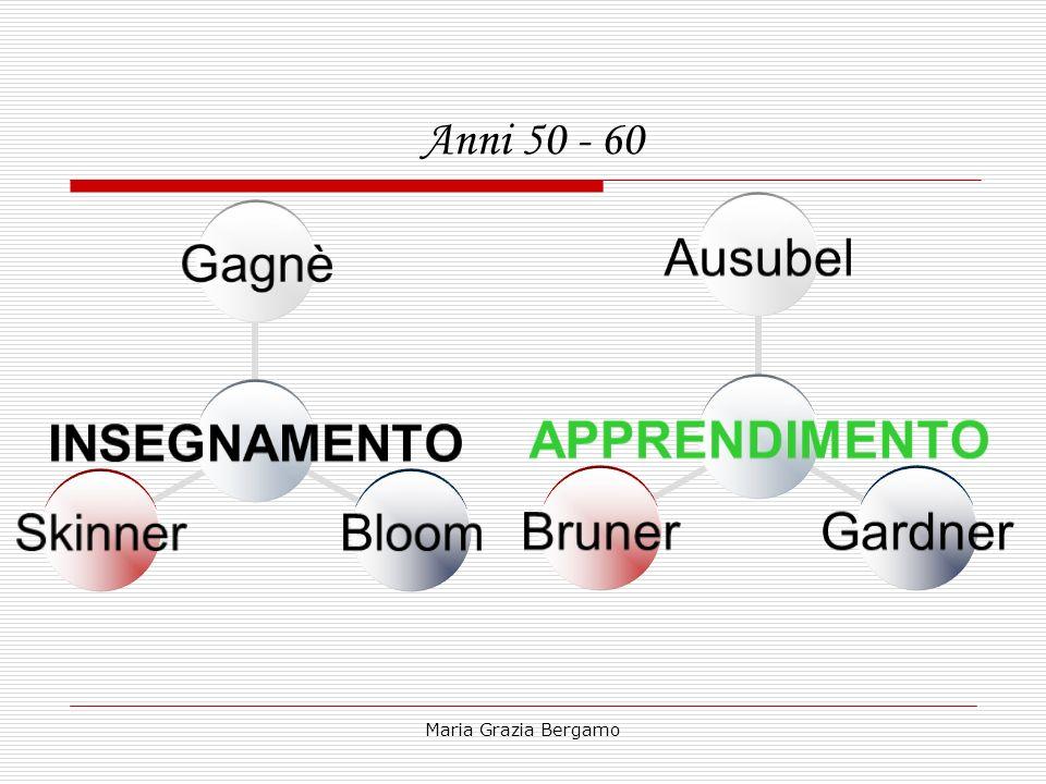 Anni 50 - 60 Maria Grazia Bergamo