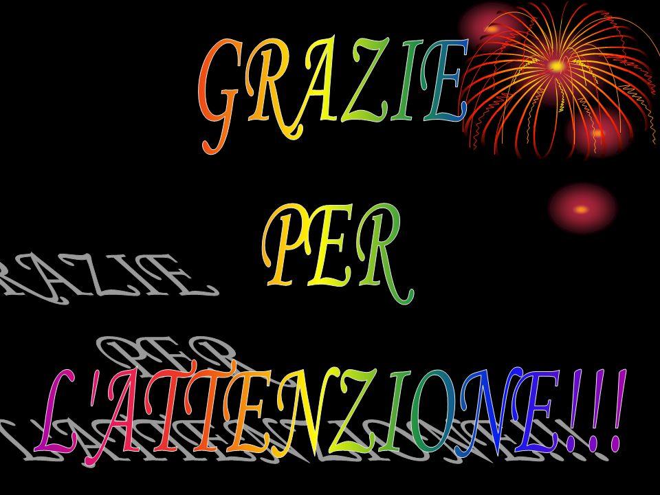 GRAZIE PER L ATTENZIONE!!!