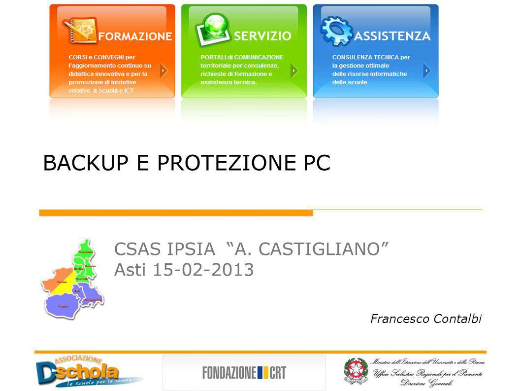 CSAS IPSIA A. CASTIGLIANO Asti 15-02-2013