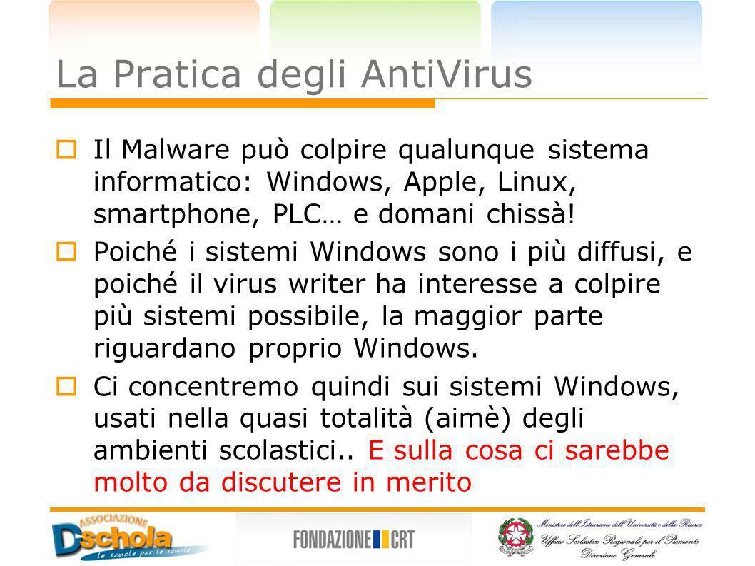 La Pratica degli AntiVirus