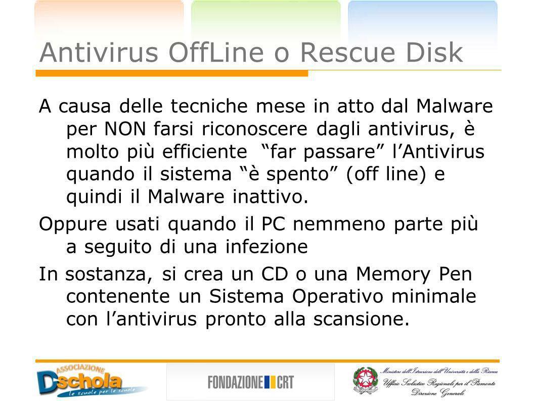 Antivirus OffLine o Rescue Disk