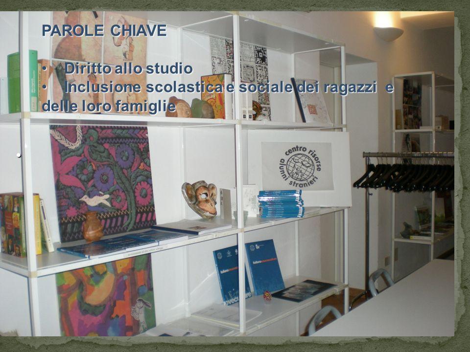 PAROLE CHIAVE Diritto allo studio.