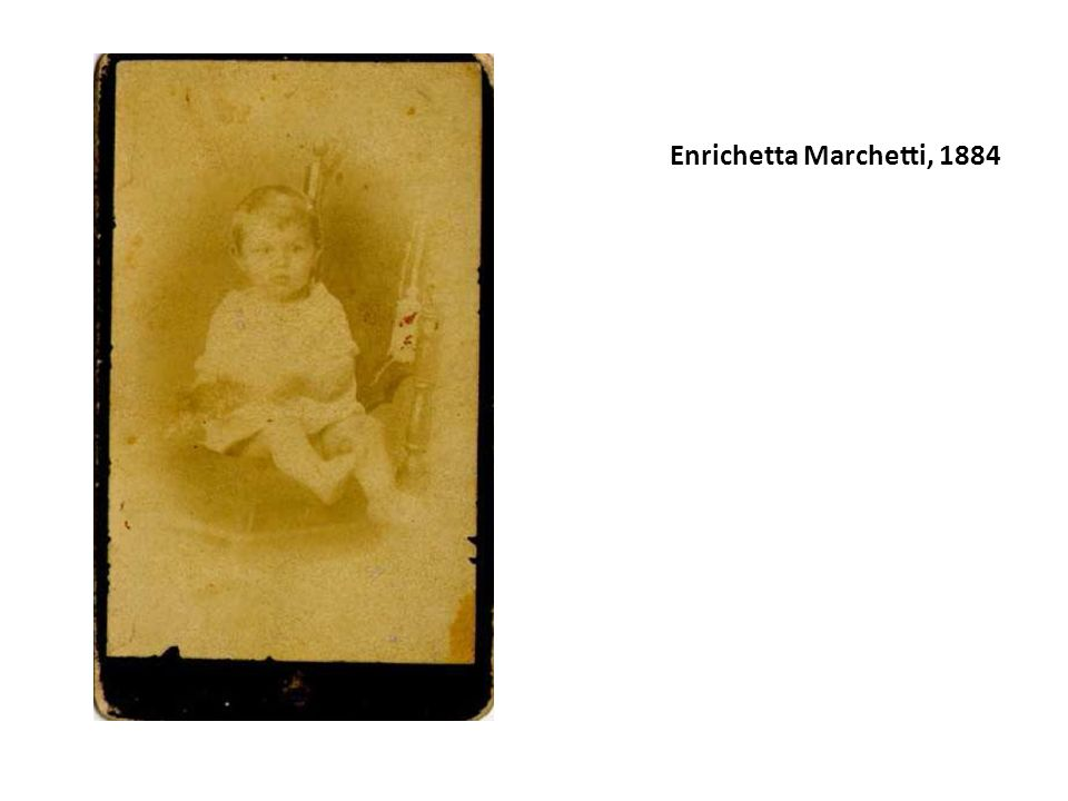 Enrichetta Marchetti, 1884
