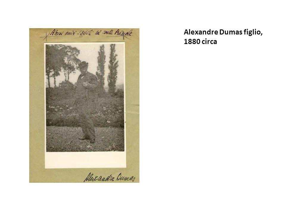 Alexandre Dumas figlio, 1880 circa
