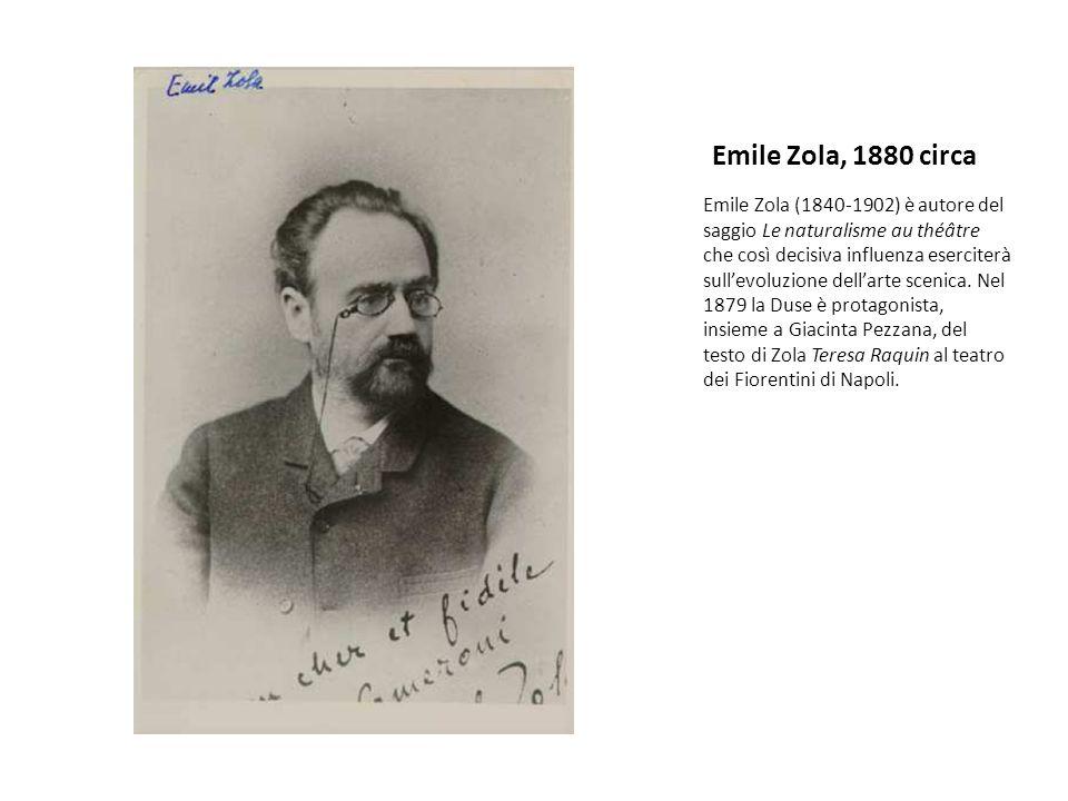 Emile Zola, 1880 circa
