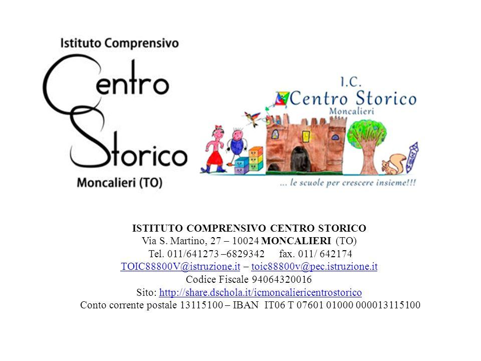 ISTITUTO COMPRENSIVO CENTRO STORICO