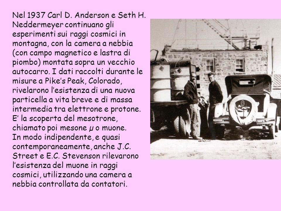 Nel 1937 Carl D. Anderson e Seth H