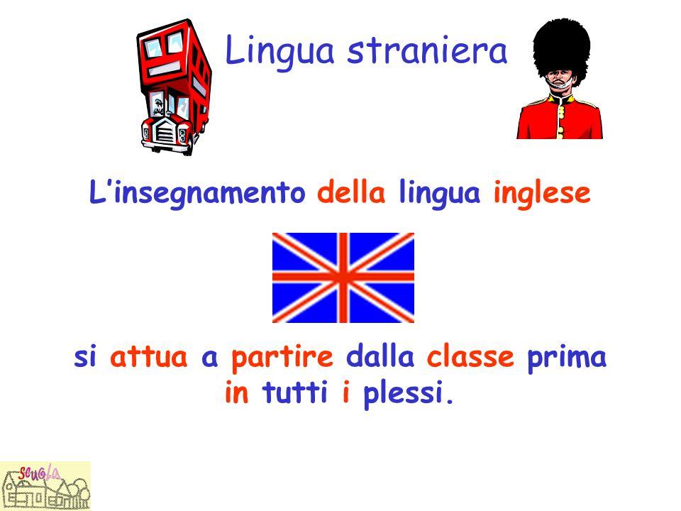 Lingua straniera L'insegnamento della lingua inglese
