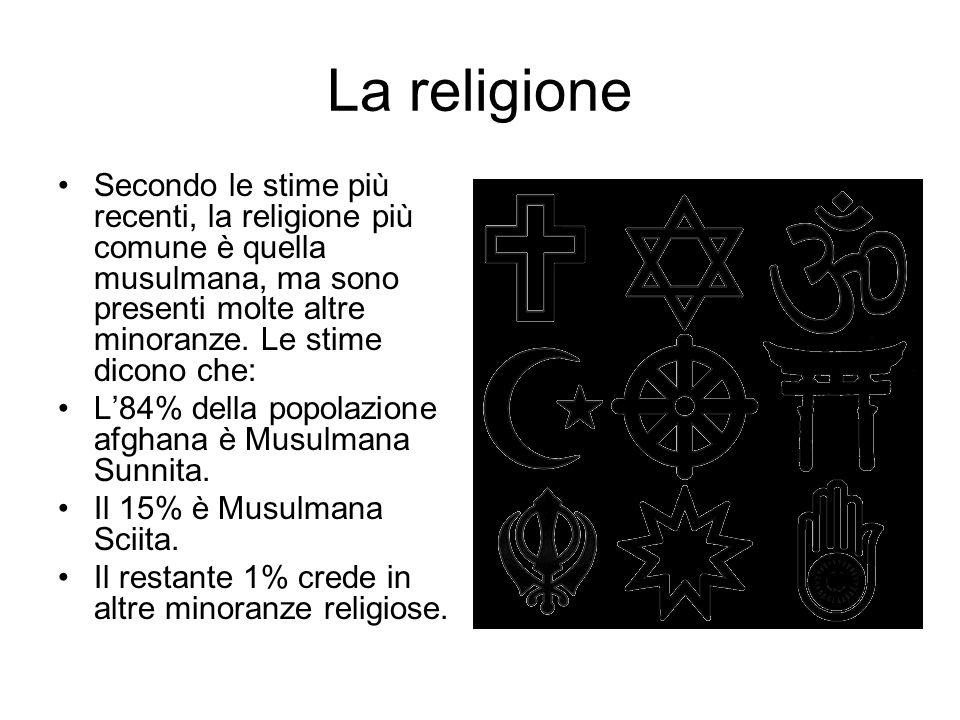 La religione Secondo le stime più recenti, la religione più comune è quella musulmana, ma sono presenti molte altre minoranze. Le stime dicono che: