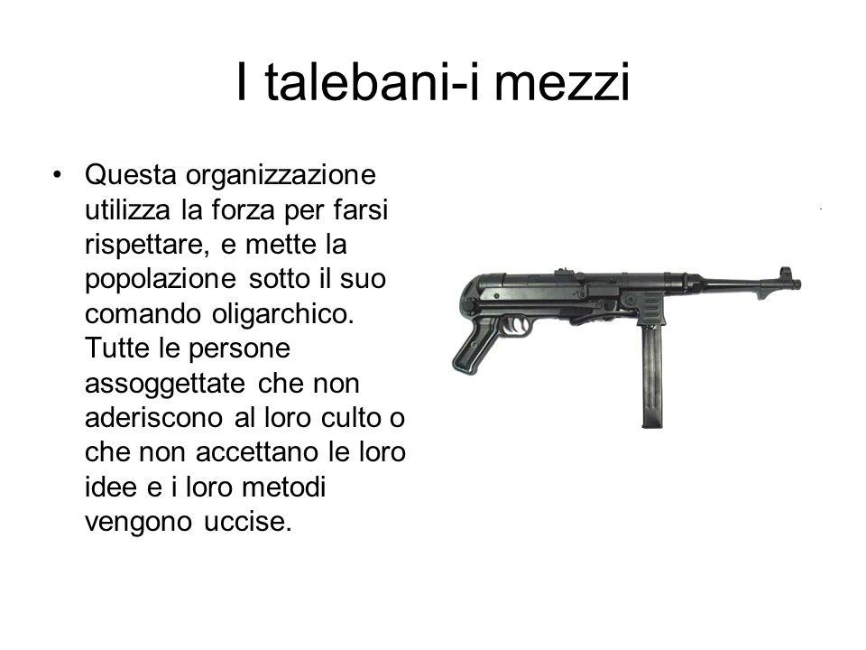 I talebani-i mezzi