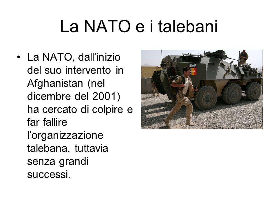 La NATO e i talebani