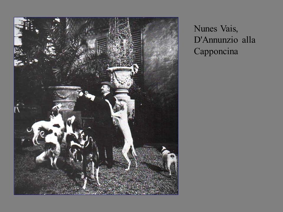 Nunes Vais, D Annunzio alla Capponcina
