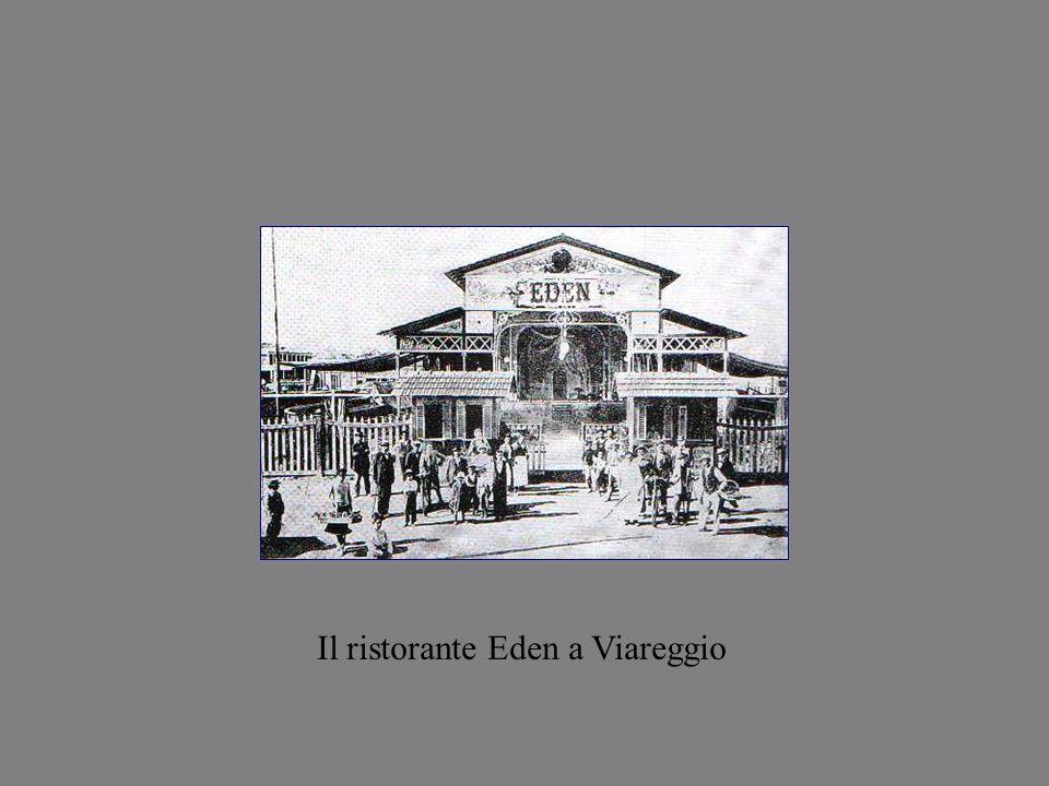 Il ristorante Eden a Viareggio