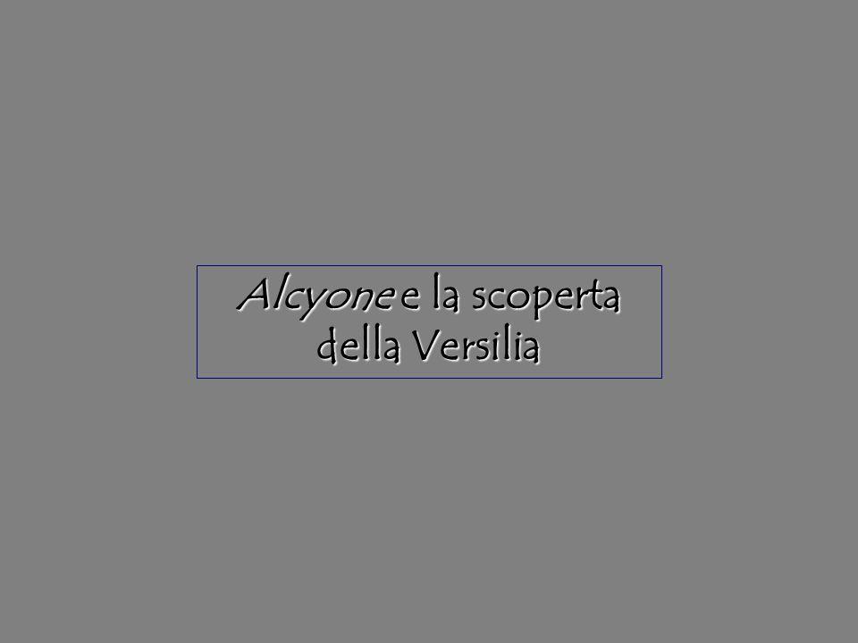 Alcyone e la scoperta della Versilia