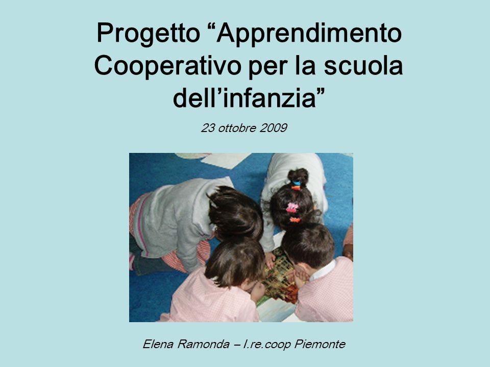 Progetto Apprendimento Cooperativo per la scuola dell'infanzia