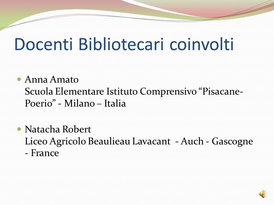 Docenti Bibliotecari coinvolti