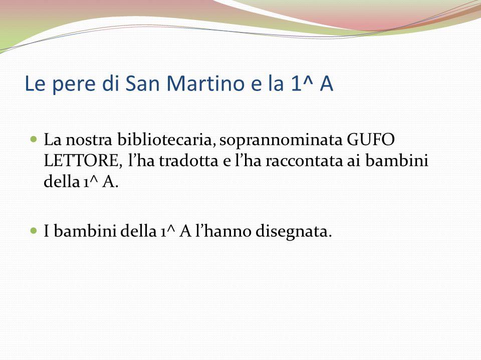 Le pere di San Martino e la 1^ A