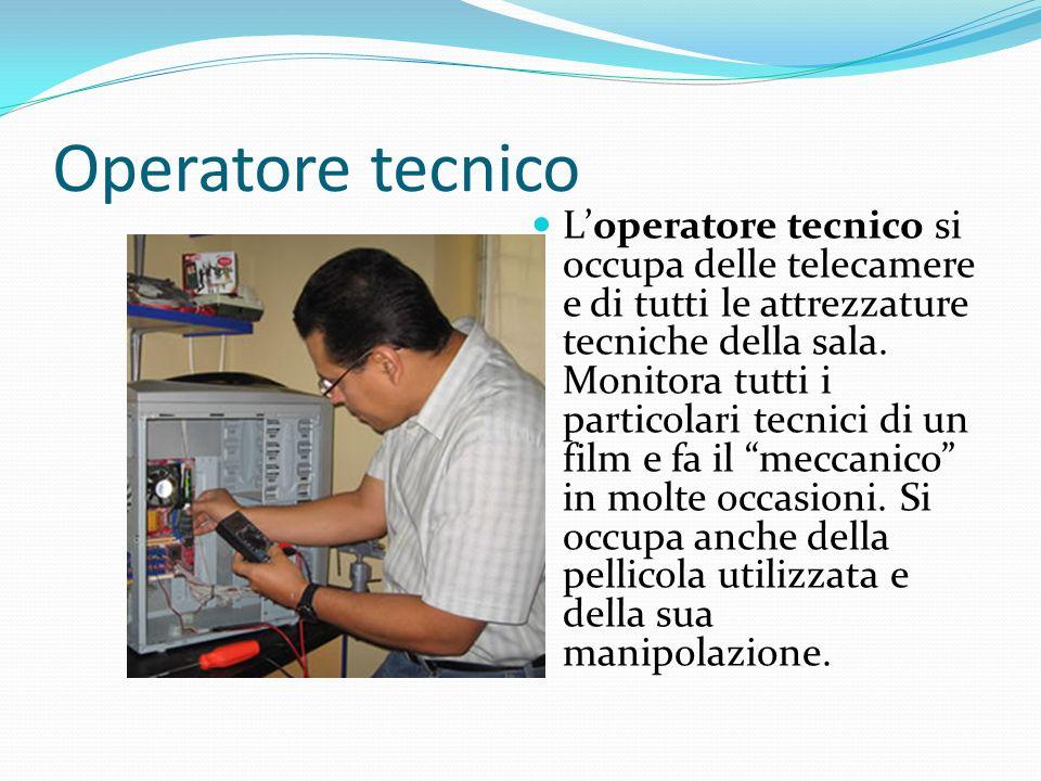 Operatore tecnico