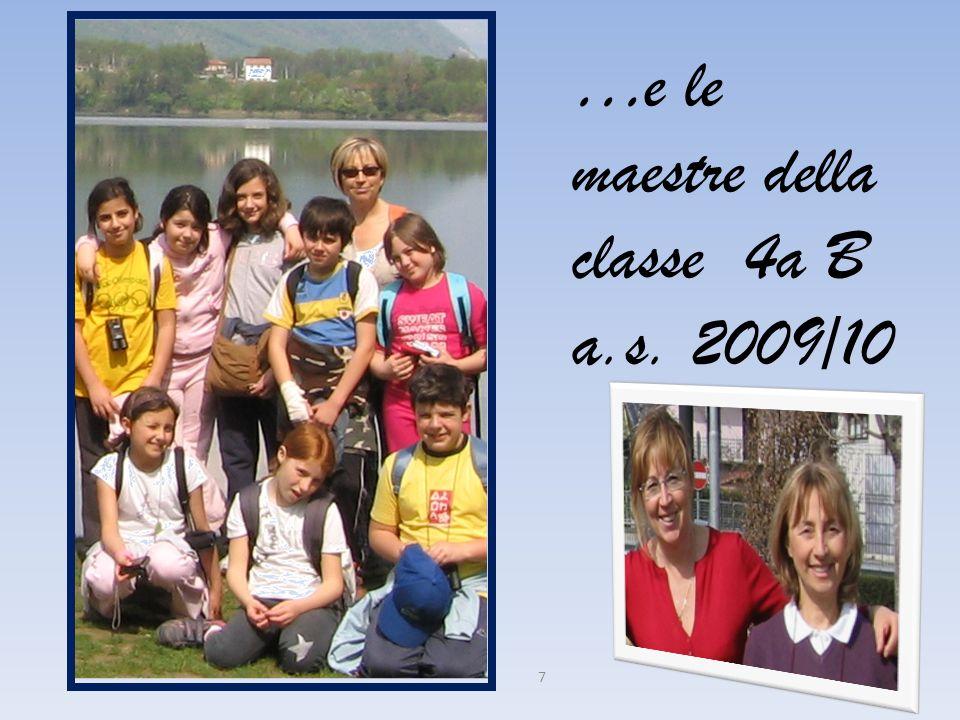 …e le maestre della classe 4a B
