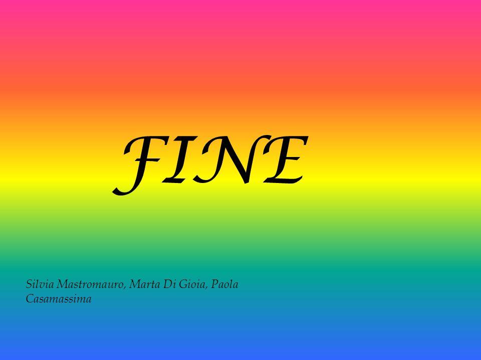 FINE Silvia Mastromauro, Marta Di Gioia, Paola Casamassima